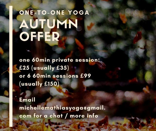 private sessions autumn 2018